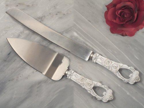 Knife Wedding Favors (Elegant Rose collection Cake and Knife set)