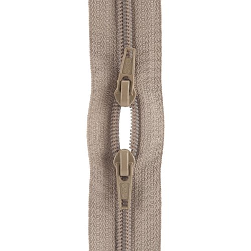Coats: Thread & Zippers F53 22-13 Purse Double Slider Zipper, 22