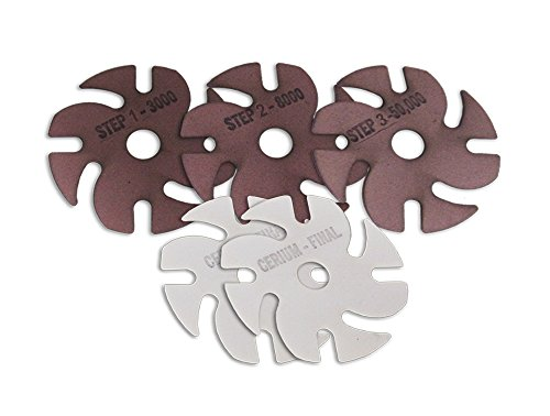 Jooltool 3M 5-Piece Polishing Diamond Abrasive Kit