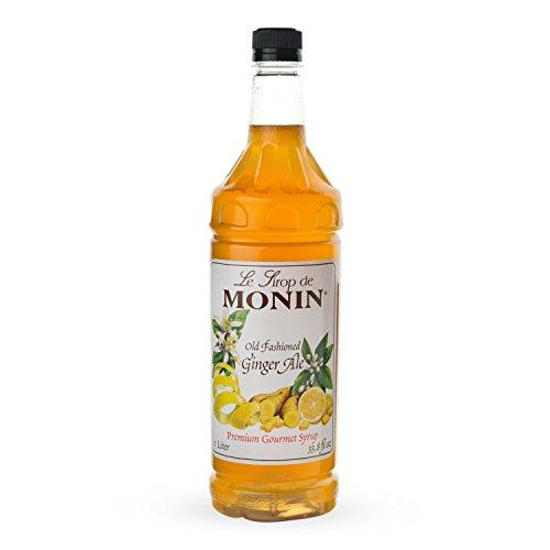 Monin Ginger Syrup Fashioned bottle product image
