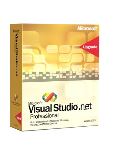 Microsoft Visual Studio .NET 2003 Professional Special Edition Upgrade [Old Version]