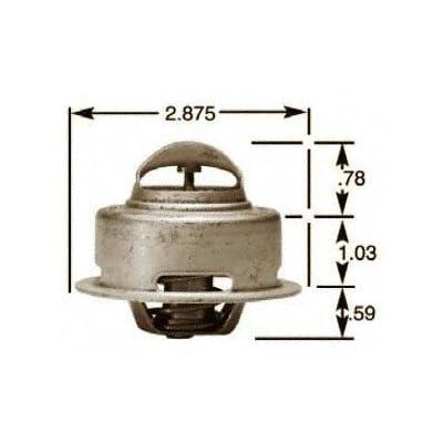 Stant 13549 Thermostat - 195 Degrees Fahrenheit: Automotive