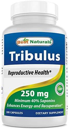Best Naturals Tribulus 250 mg 180 Capsules