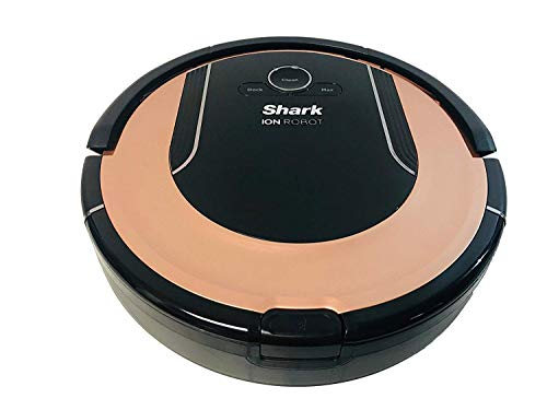 Lutema Shark ION Robot Vacuum Cleaning System S86 (Rose Gold) with Wi-Fi App Controlled & Smart Sensor Navigation 2.0 | Hepa Anti-Allergen RV852 (Renewed)