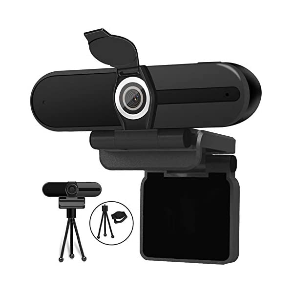 4K Webcam Webcam 8MP HD Computer Camera with Microphone Pro Streaming Web Camera with Privacy Shutter