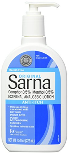 Sarna Anti-Itch Lotion Original 7.50 oz (Pack of 3) ()