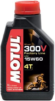 Motul 300V 4T Competition Offroad Synthetic Oil - 15W60 - 1L. 102710 ()