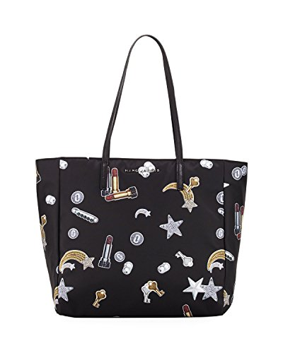 - Marc Jacobs Tossed Charms Printed Shopping Bag