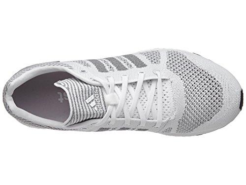 Adidas Chaussures Running Adizero Primeknit Ltd # Bb4919 Blanc / Platine / Noir