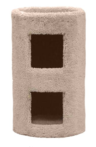 Classy Kitty 21'' 2 Story Cat Condo 13.5x13.5x26 by North American Pet