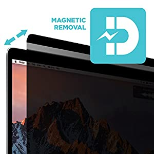 "Macbook Pro Privacy Screen Protector, Tech Armor Privacy Apple Macbook Pro Retina 15"" (2016/2017) Film, Easy Magnet Removal"