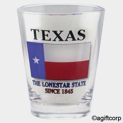 Texas Flag Shot Glass -