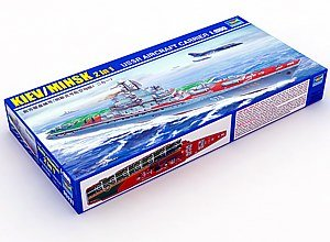 Trumpeter 1/500 Scale USSR Minsk (Kiev) Aircraft Carrier (2-in-1)