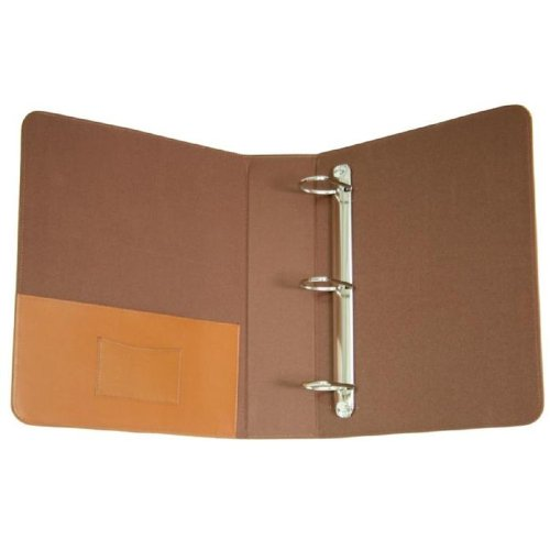 Royce 2-Inch Leather D-Ring Binder