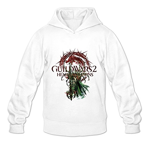 Men's Guild Wars 2 Ritualist Hoodie Size S White