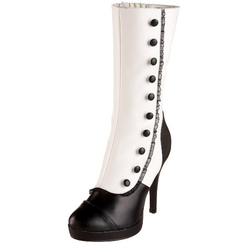 Funtasma SPLENDOR-130 Wht-Blk Pu UK 4 (EU 37 )