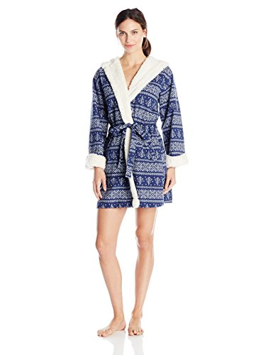 Tommy Hilfiger Womens Hooded Pajama