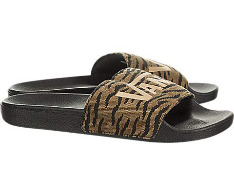979f7b6ec3b3 Amazon.com  Vans Slide-On (Woven Tiger) Black  Shoes