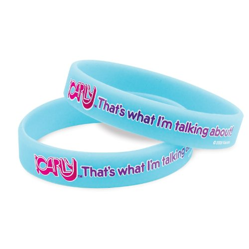 [iCarly Rubber Bracelets (4 count)] (Icarly Halloween)