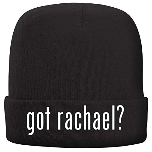 (BH Cool Designs got Rachael? - Adult Comfortable Fleece Lined Beanie, Black)