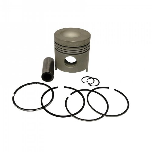 New Oversize Piston - 1109-1002 Ford New Holland Parts Piston Kit 20 Oversized 201 ENG; 3930; 4600; 4610; 555 INDUST/CONST; 555A INDUST/CONST; 555B INDUST/CONST; 6410; 6600; 6610; 6700; 6710; 7810; 7910; 8200; TW10; TW15;