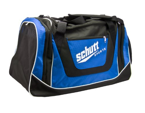 Schutt Sports Youth Individual Player Bag, Black/Royal Blue ()