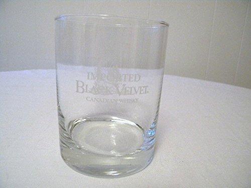 Black Velvet Canadian Whiskey Tumbler Glass Cup Fish Design ()