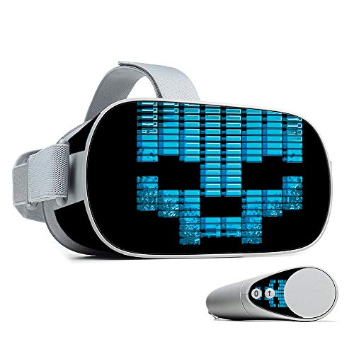 MightySkins Skin Compatible with Oculus Go - Equalizer   Protective, Durable, and Unique Vinyl Decal wrap Cover   Easy to Apply, Remove, and Change Styles   Made in The USA (Drop The Bass Decal)