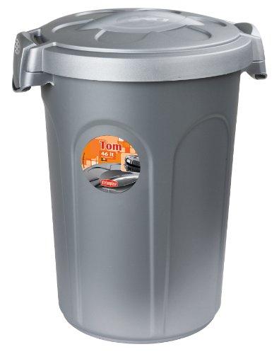 Stefanplast Tom Tonne mit Deckle, Kunststoff, 46 Liter