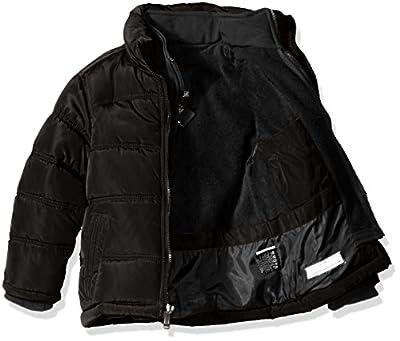 Weatherproof Boys' Bubble Jacket Memory Softshell with Softshell Bib