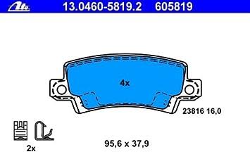 Scheibenbremse ATE 13.0460-7194.2 Bremsbelagsatz