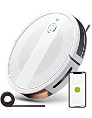 Robot Vacuum Cleaner, 2000Pa, 150Min Runtime, No-Go Zones, Self-Charging Robotic Vacuum for Pet Hair, Cleans Hard Floors to Medium-Pile Carpets, Compatible with Alexa and Google Assistant