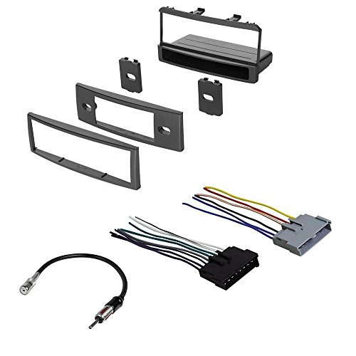 FORD 2000 - 2004 FOCUS CAR RADIO STEREO RADIO KIT DASH INSTALLATION MOUNTING W/ WIRING HARNESS (American Dash Trim)