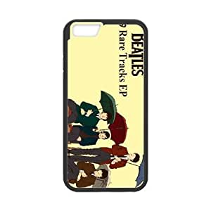 iPhone 6 Plus 5.5 Inch Cell Phone Case Black The Beatles 006 Basic Cell Phone Carrying Cases LV_6098854