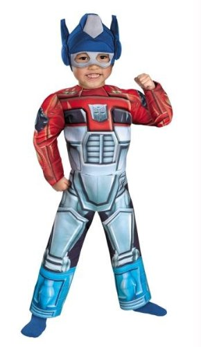 Optimus Prime Costume Ideas (Costumes For All Occasions DG42643M Optimus Prime Rescue Bot Muscl)