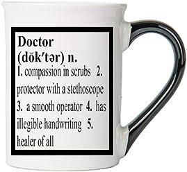 Tumbleweed Doctor Definition 20 Ounce Ceramic Coffee Mug