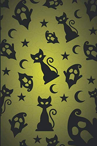 Ghostly Cats Lined Notebook & Journal]()