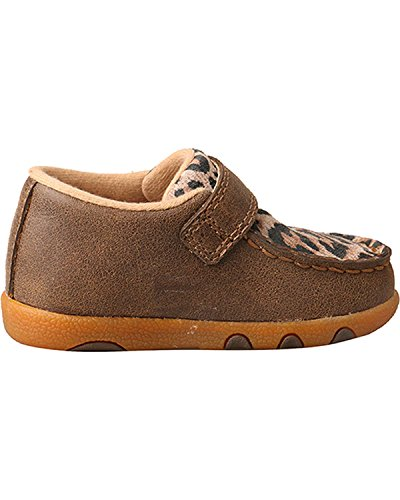 Pictures of Twisted X Infant-Girls' Leopard Driving Moccasins - 3