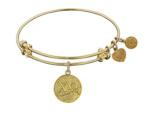 Angelica Collection Chi Omega extensible Bracelet Laiton
