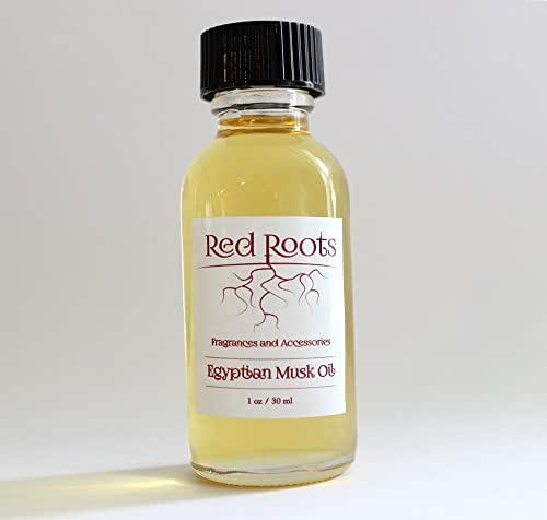 Red Roots Fragrances & Accessories - Egyptian Musk Oil - 30ML - Ounce Bottle