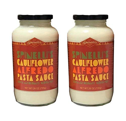 SPINELLIS SAUCE CO Cauliflower Alfredo Pasta Sauce, 26 OZ, 2 JARS
