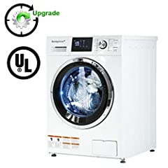 PRODUCT DETAILS: Relief Yourself From Hand Washing. This Is Our Compact Washer/Dryer Combo, Which Is Prefer For Doing Laundry In A Compact Environment. As For A Prefect Washer/Dryer Combo, This Washer/Dryer Combo Will Be Ideal For Dorms, Apar...