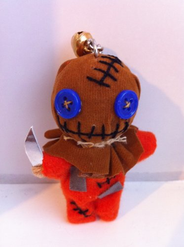 String Doll World - Voodoo String Doll Keychain - Sam Trick 'r Treat