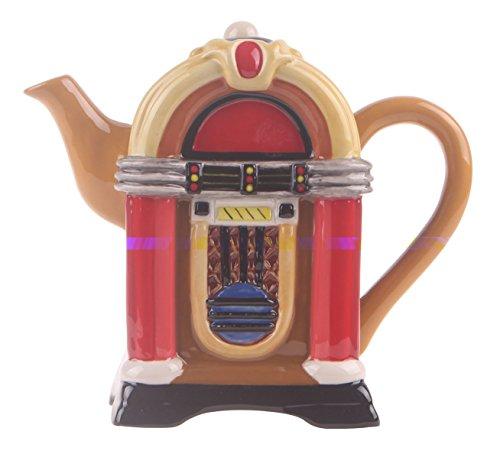 Retro Vintage Jukebox (Blue Sky Ceramic Retro Juke Box Teapot)
