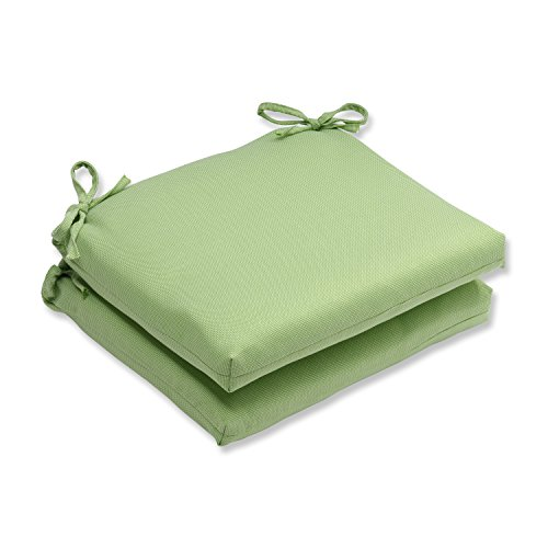 (Pillow Perfect Outdoor/Indoor Tweed Squared Corners Seat Cushion (Set of 2),)