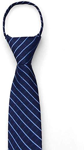 GFF Corbata/Corbata con Cremallera para Traje de Hombre/Ocupación ...