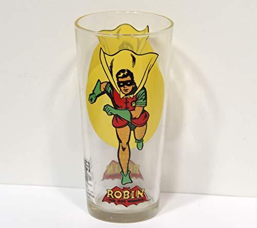 Collectors Glass Pepsi Super Series Comic Book Hero