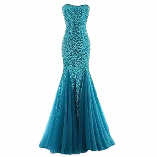 Maxi kleider hochzeit blau