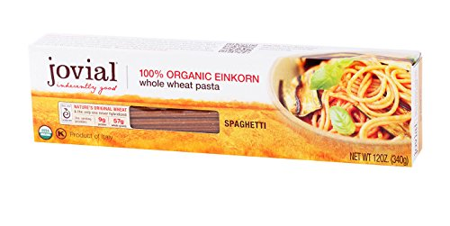 (Jovial, Pasta Einkorn Spaghetti Organic, 12 Ounce)