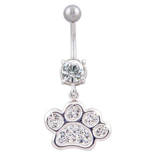 PIERCINGLINE® piercing nombril design laiton PATTE